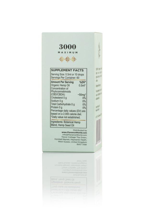 Hemp CBD Oil 3000