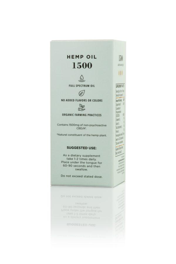 Hemp CBD Oil 1500