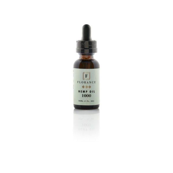 florance pure hemp oil 1000