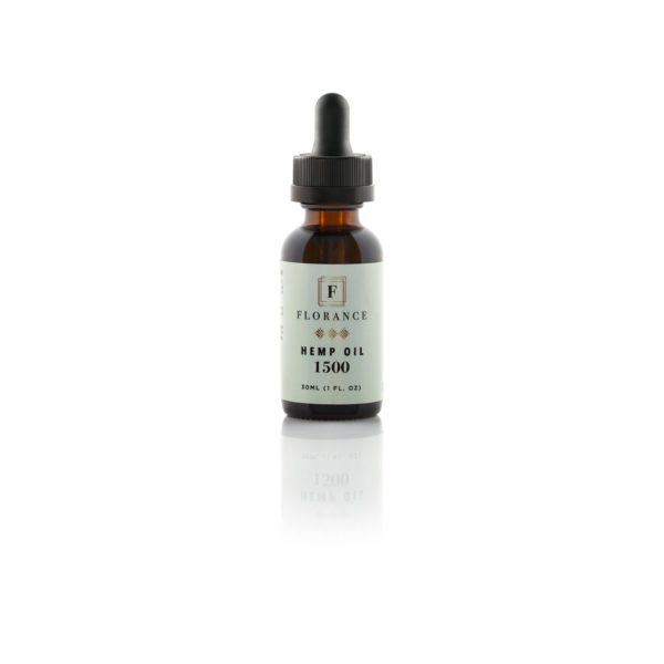 florance pure hemp oil 1500